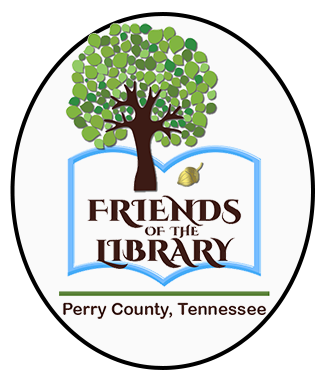 Friends of the Library tree logo