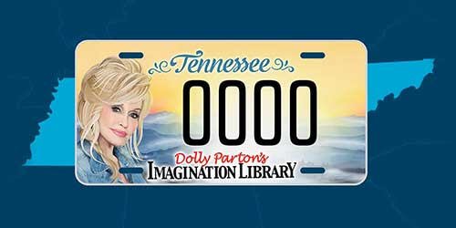 Dolly License Plate