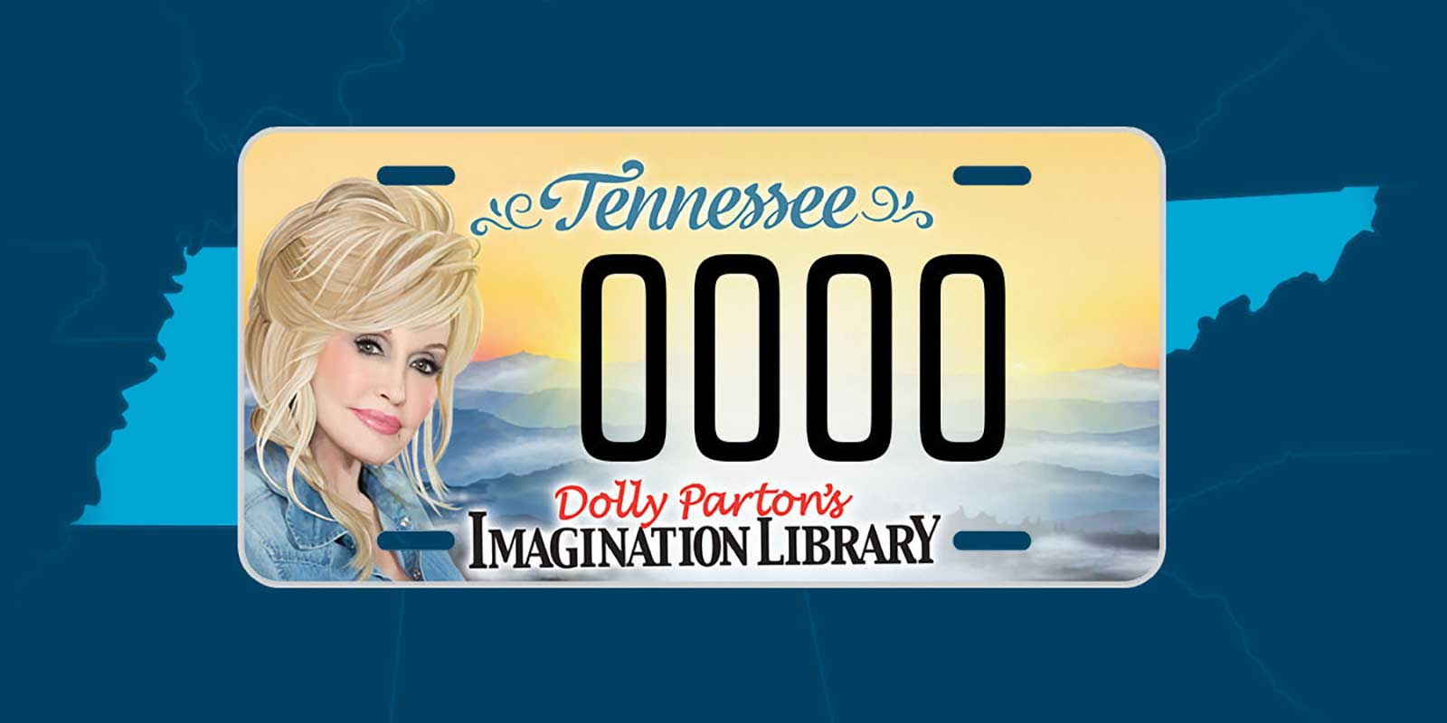 Imagination Library Specialty License Plate Available Now
