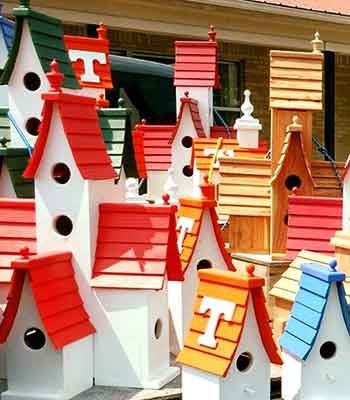 Mr. Hensley's Birdhouses