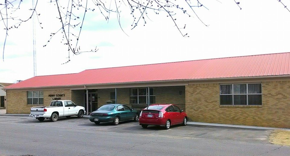 Perry County Public Library in Linden, TN
