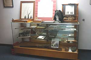 Historical Society Display